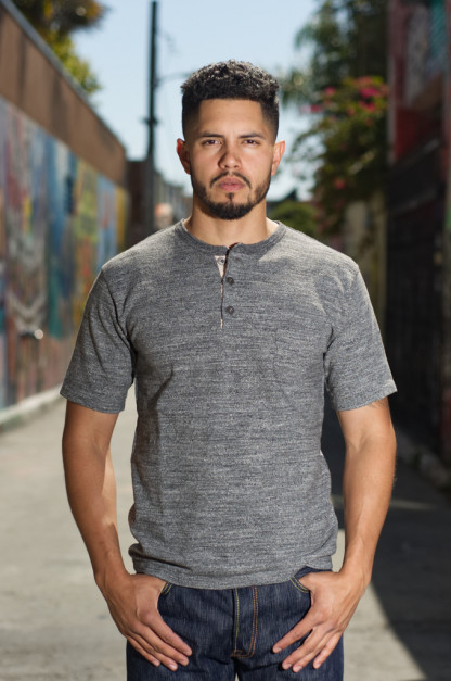 "Orgueil ""Wave Master Flex"" Shirt - Gray Henley"