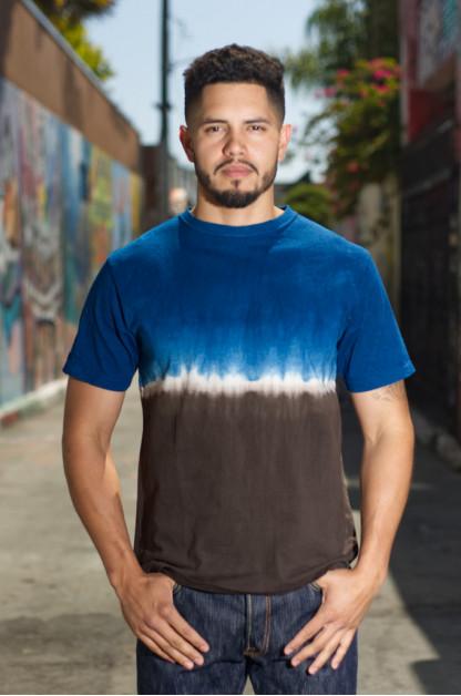 Studio D'Artisan Dorozome Indigo-Dyed T-Shirt