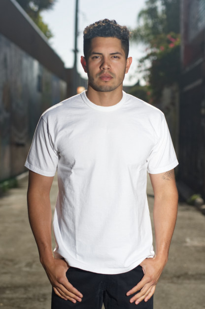 """Flat Head """"The Other THC"""" Loopwheeled T-Shirt - White"""