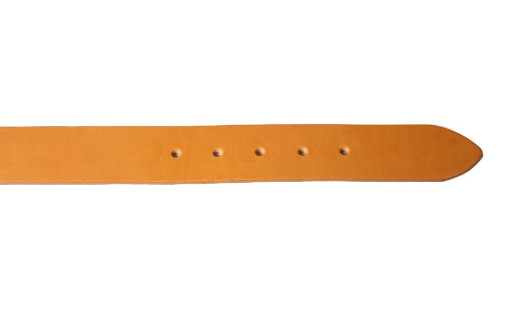 3sixteen Heavy Duty Leather Belt - Tan - Image 3