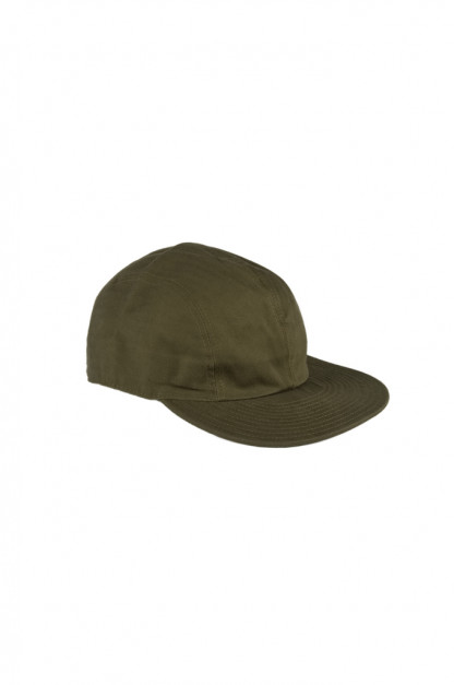 Papa Nui Olive Herringbone Twill Fort Pierce Cap