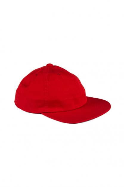 Papa Nui Red 6oz Cotton Twill Tokyo-Ri Cap