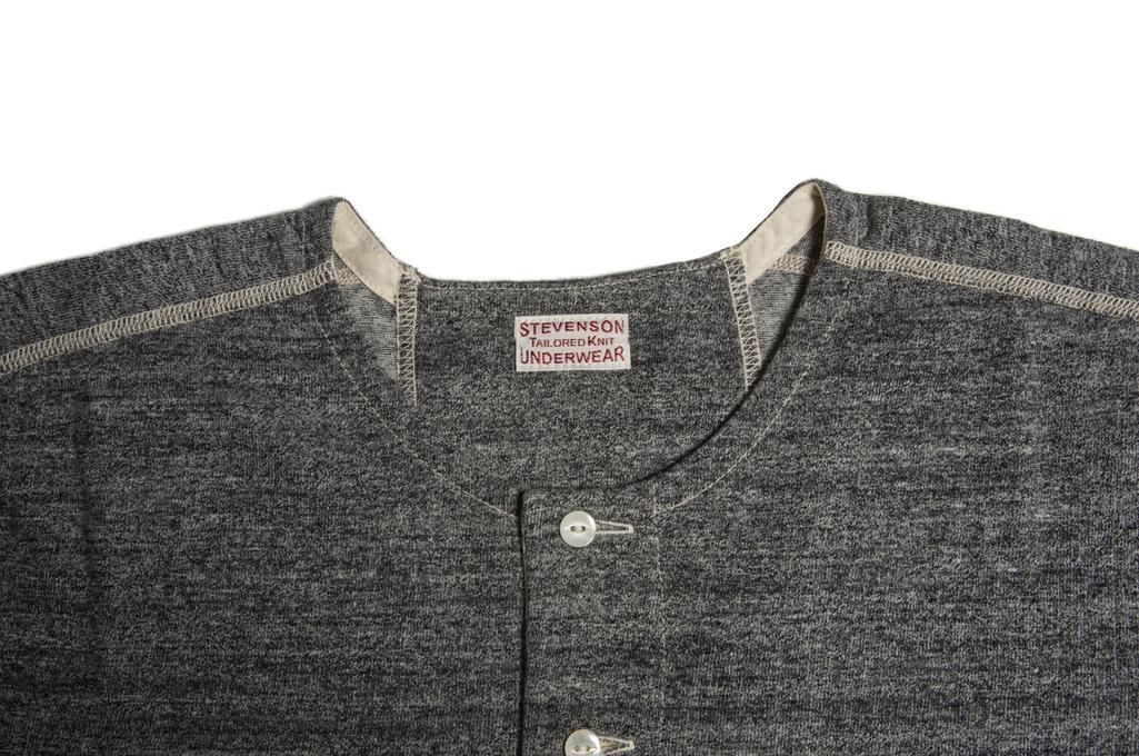 Stevenson Loopwheeled Short Sleeve - Henley Gray - Image 4