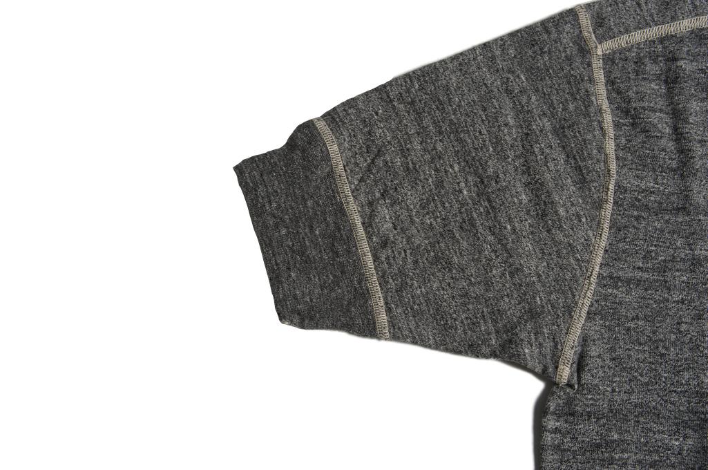 Stevenson Loopwheeled Short Sleeve - Henley Gray - Image 6
