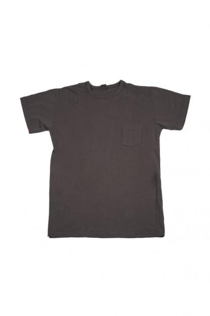 3sixteen Garment Dyed Pocket T-Shirt - Charcoal