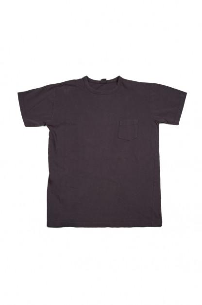 3sixteen Garment Dyed Pocket T-Shirt - Purple