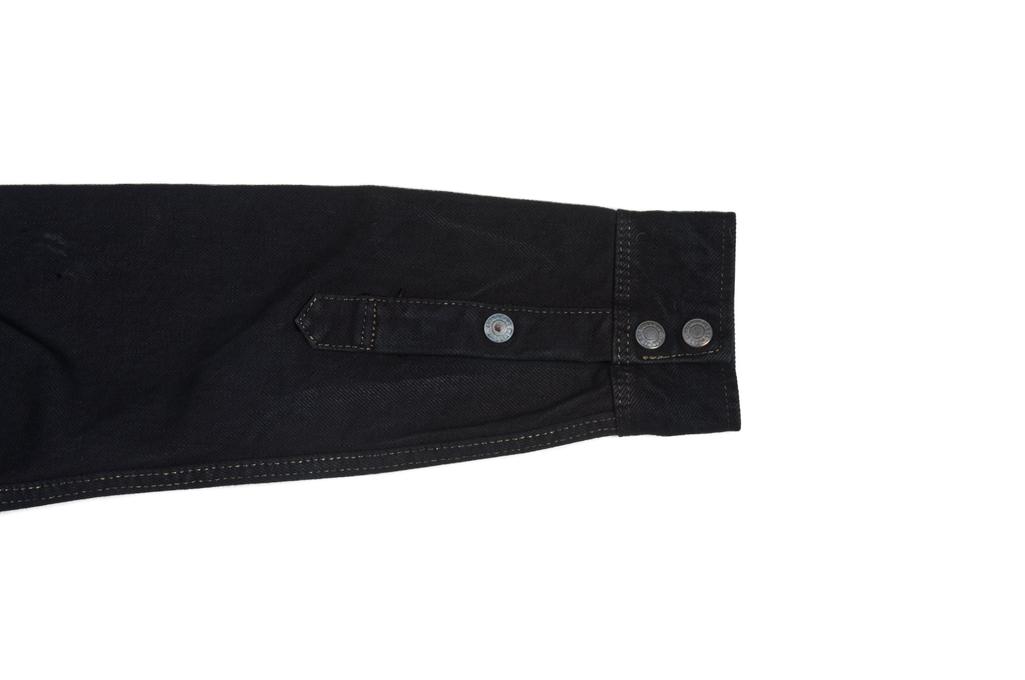 Iron Heart 18oz Denim CPO Shirt w/ Hand Pockets - Overdyed - Image 9