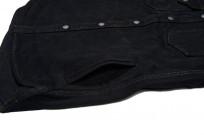 Iron Heart 18oz Denim CPO Shirt w/ Hand Pockets - Overdyed - Image 6