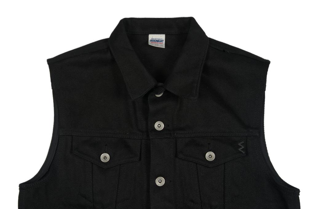 Iron Heart Sonny's Black Denim Vest - Image 3
