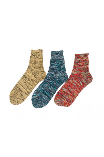 Studio D'Artisan Middle Mixed Shade Socks