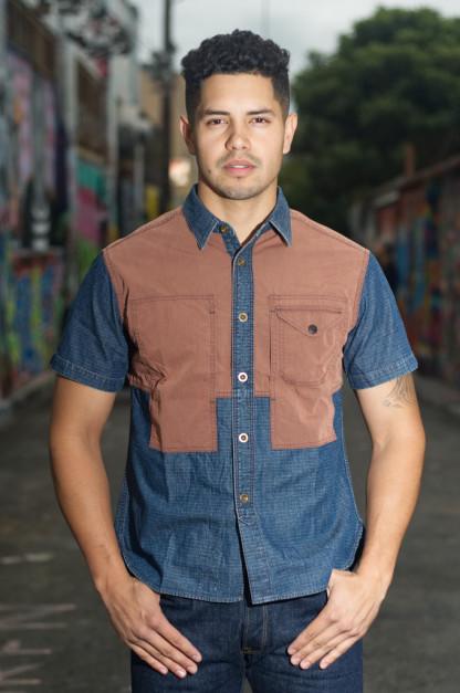 Studio D'Artisan Mr. Mountain 70/30 Shirt - Washed Contrast