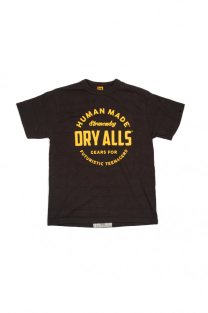 Human Made Woven Cotton T-Shirt - Dry Alls