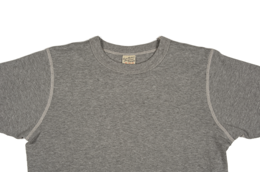 Buzz Rickson Blank Thermal T-Shirt - Gray - Image 1