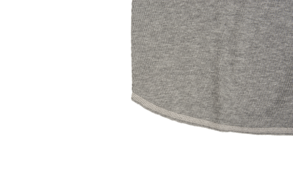 Buzz Rickson Blank Thermal T-Shirt - Gray - Image 5