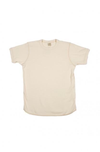 Buzz Rickson Blank Thermal T-Shirt - Natural