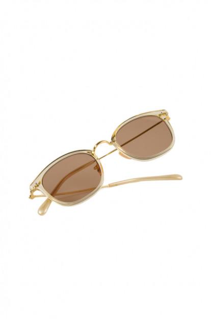 Globe Specs Titanium & Acetate Sunglasses - Ethan / Translucent
