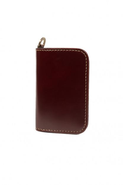 Iron Heart Mid-Length Wallet - Ox-Blood