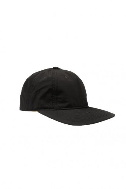 Poten Japanese Made Cap - Black Nylon