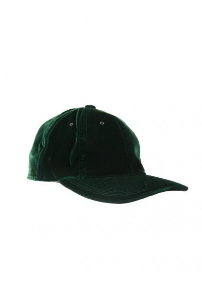 Poten Japanese Made Cap - Green Velvet