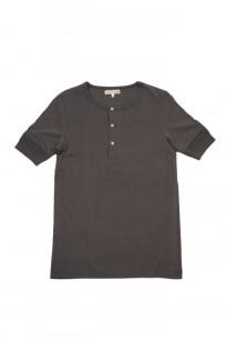 Merz B. Schwanen 2-Thread Heavy Weight T-Shirt - Henley Stone - Image 0