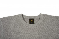 Iron Heart Extra Heavy Cotton Knit Thermal - Gray - Image 4