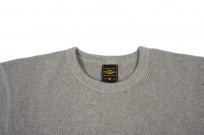 Iron Heart Extra Heavy Cotton Knit Thermal - Gray - Image 4
