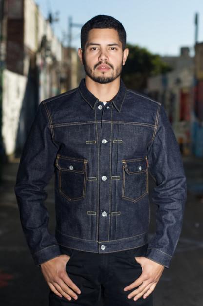 Iron Heart 18oz Raw Selvedge Type II Jacket