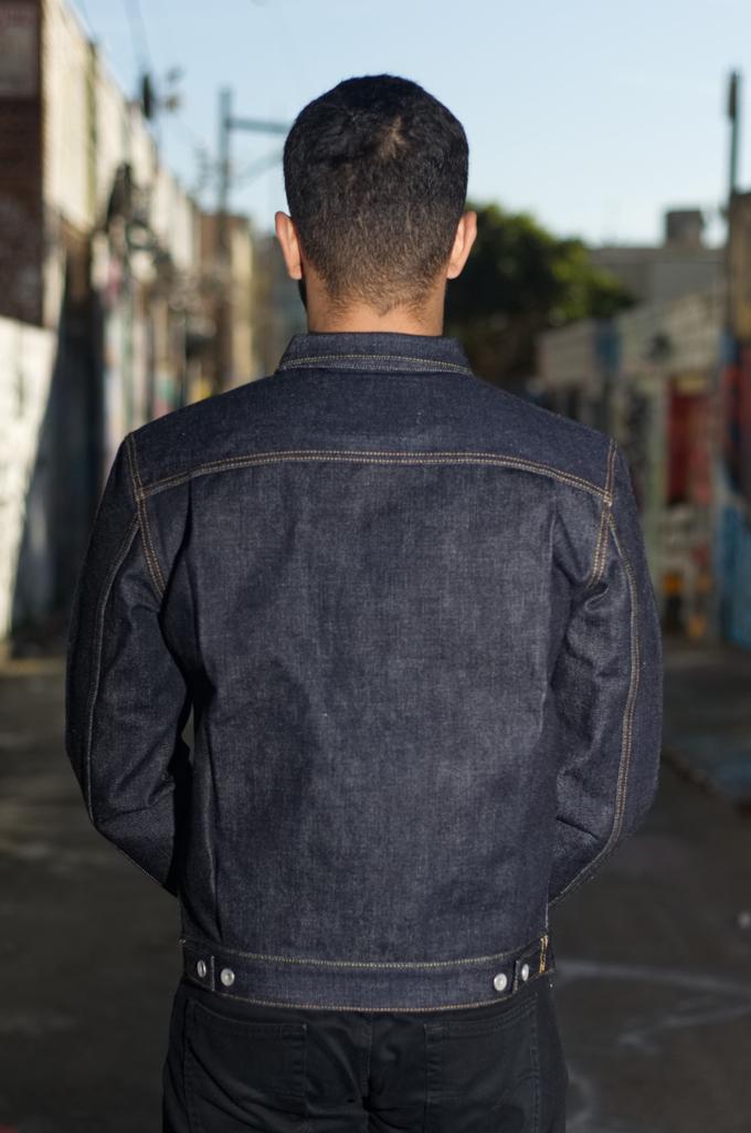 Iron Heart 18oz Raw Selvedge Type II Jacket - Image 1