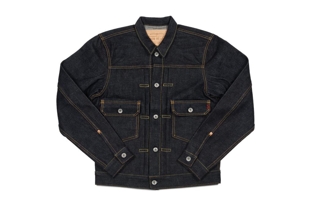 Iron Heart 18oz Raw Selvedge Type II Jacket - Image 2