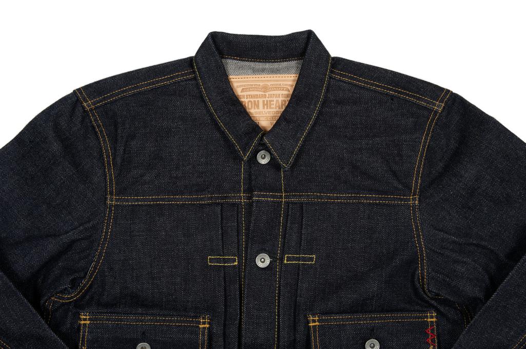 Iron Heart 18oz Raw Selvedge Type II Jacket - Image 3