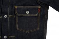 Iron Heart 18oz Raw Selvedge Type II Jacket - Image 6