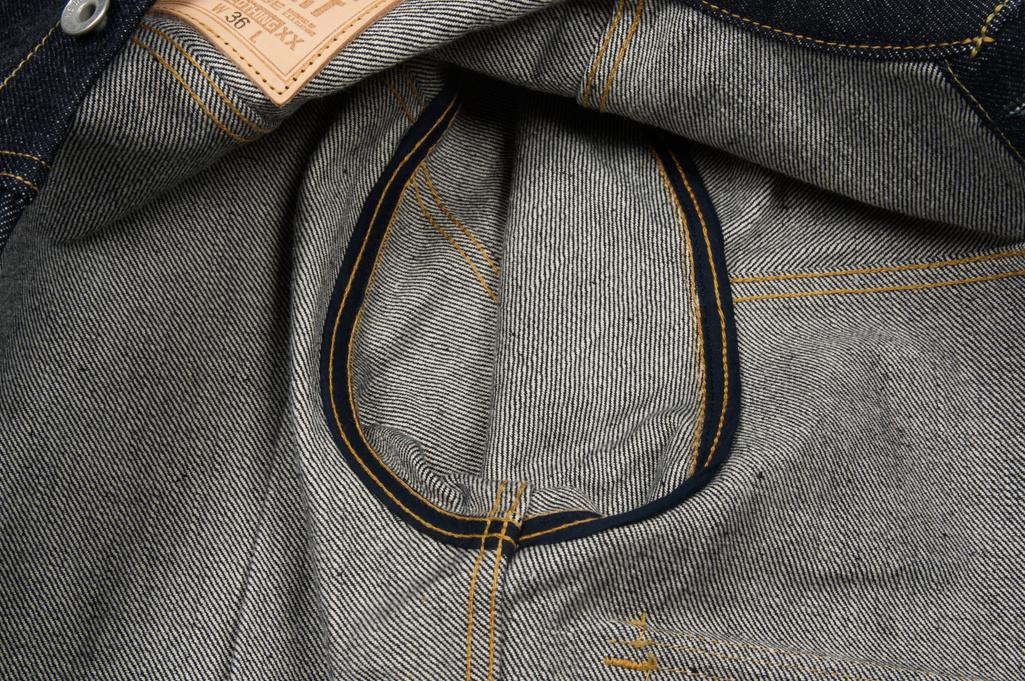 Iron Heart 18oz Raw Selvedge Type II Jacket - Image 7