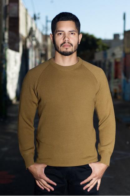 Stevenson Absolutely Amazing Merino Wool Thermal Shirt - Khaki