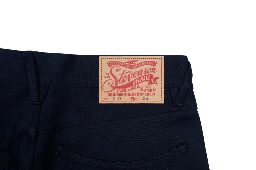 Stevenson 210 Big Sur Jeans - Slim Tapered Indigo/Indigo - Image 6