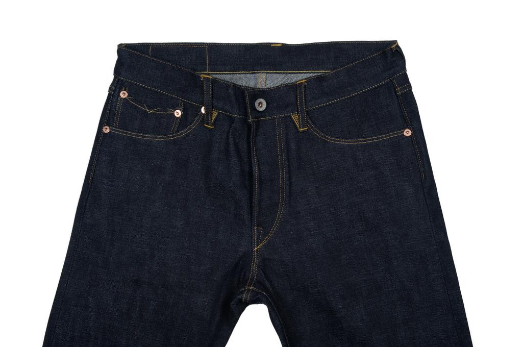 Stevenson 210 Big Sur Jeans - Slim Tapered Indigo - Image 3