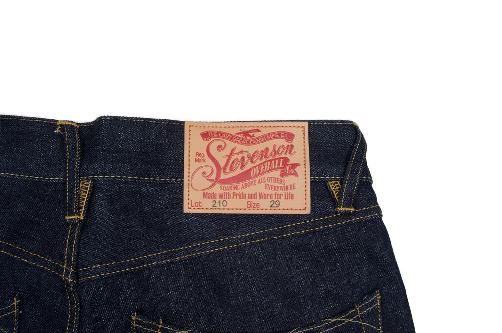 Stevenson 210 Big Sur Jeans - Slim Tapered Indigo - Image 6