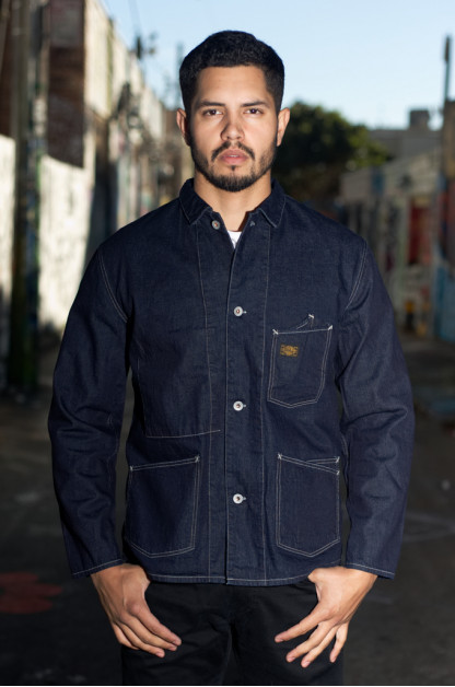 Stevenson Golden Gate Jacket - 11oz Indigo Denim
