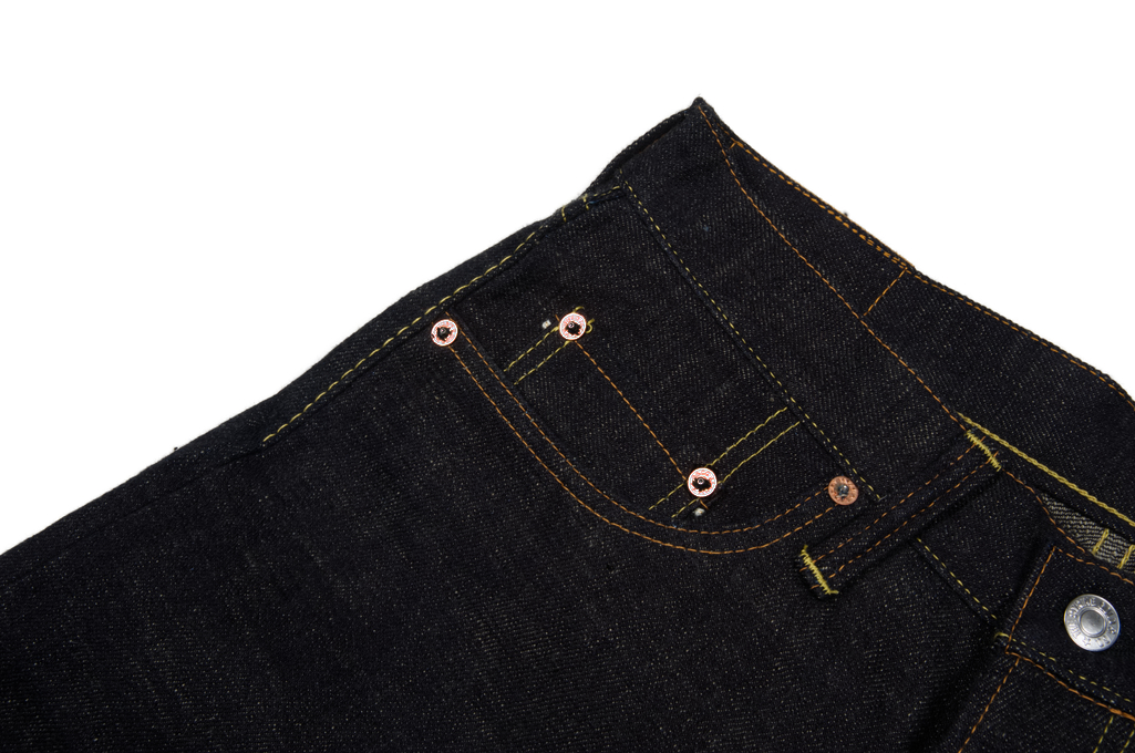 Strike Gold 5104 Weft Slub Jean - Straight Tapered - Image 4