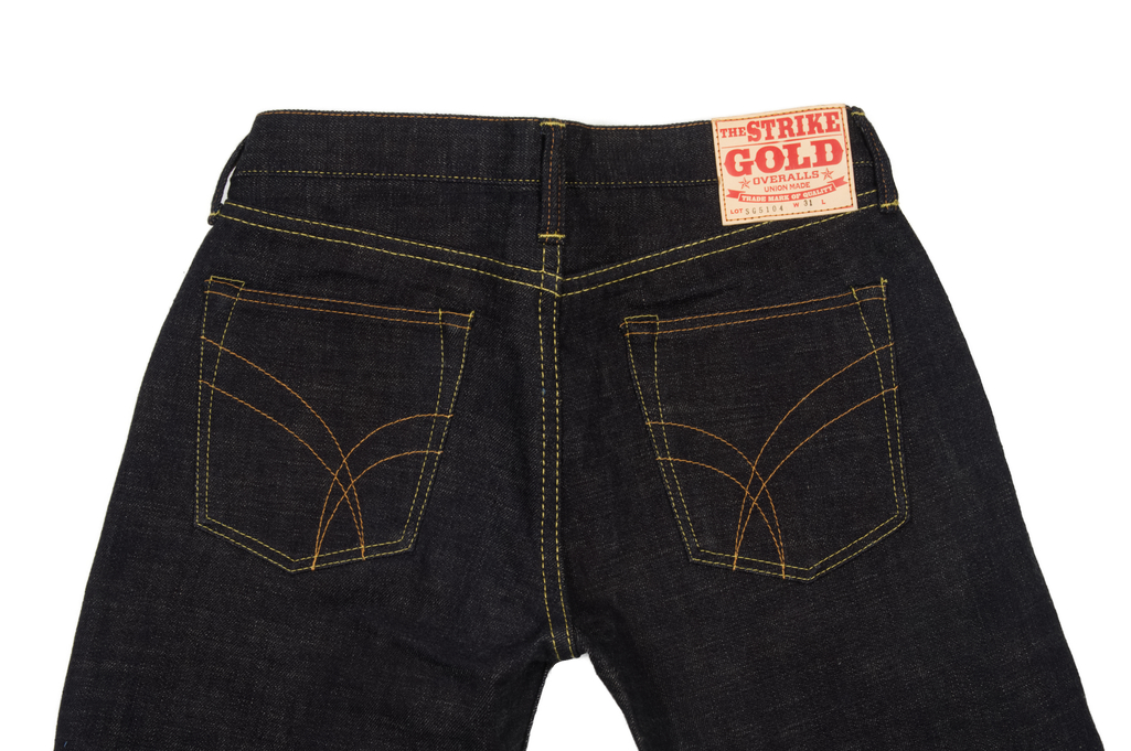 Strike Gold 5104 Weft Slub Jean - Straight Tapered - Image 5