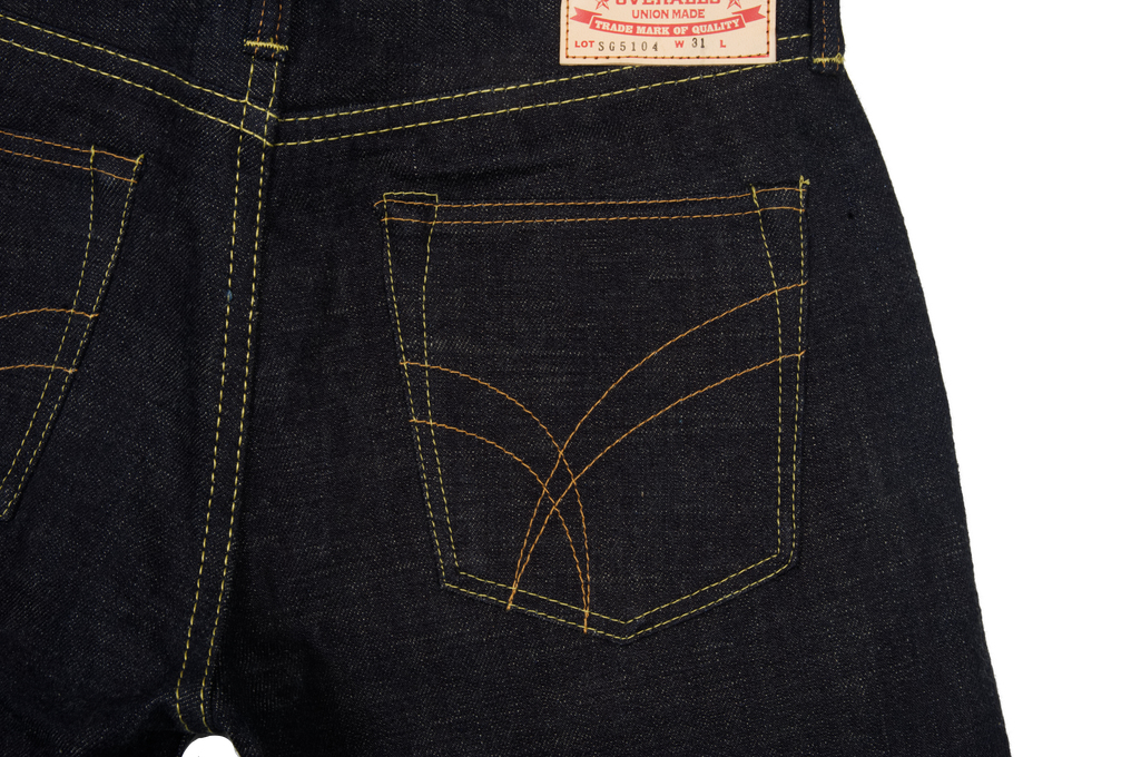 Strike Gold 5104 Weft Slub Jean - Straight Tapered - Image 7