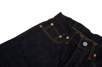 Pure Blue Japan 12oz Summer Denim Jeans - Straight Tapered - Image 4