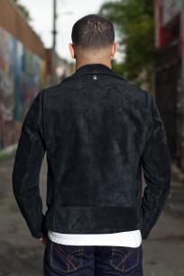 3sixteen x Schott Waxed Roughout Cowhide Jacket - Image 1