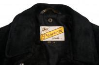 3sixteen x Schott Waxed Roughout Cowhide Jacket - Image 4