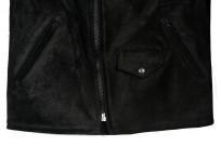3sixteen x Schott Waxed Roughout Cowhide Jacket - Image 6