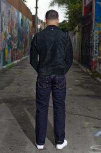 Strike Gold 5004 15.5oz Denim Jeans - Double Indigo Straight Tapered - Image 1