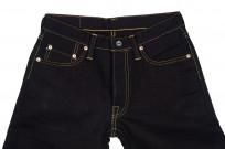 Strike Gold 5004 15.5oz Denim Jeans - Double Indigo Straight Tapered - Image 3