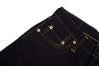 Strike Gold 5004 15.5oz Denim Jeans - Double Indigo Straight Tapered - Image 4
