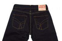 Strike Gold 5004 15.5oz Denim Jeans - Double Indigo Straight Tapered - Image 5
