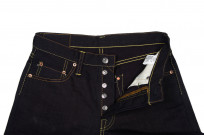 Strike Gold 5004 15.5oz Denim Jeans - Double Indigo Straight Tapered - Image 9