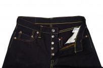 Strike Gold 5009 15.5oz Denim Jeans - Double Indigo Slim Tapered - Image 9